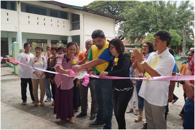 BLESSING OF BAMBAN CENTRAL SCHOOL COVERED GYMNASIUM