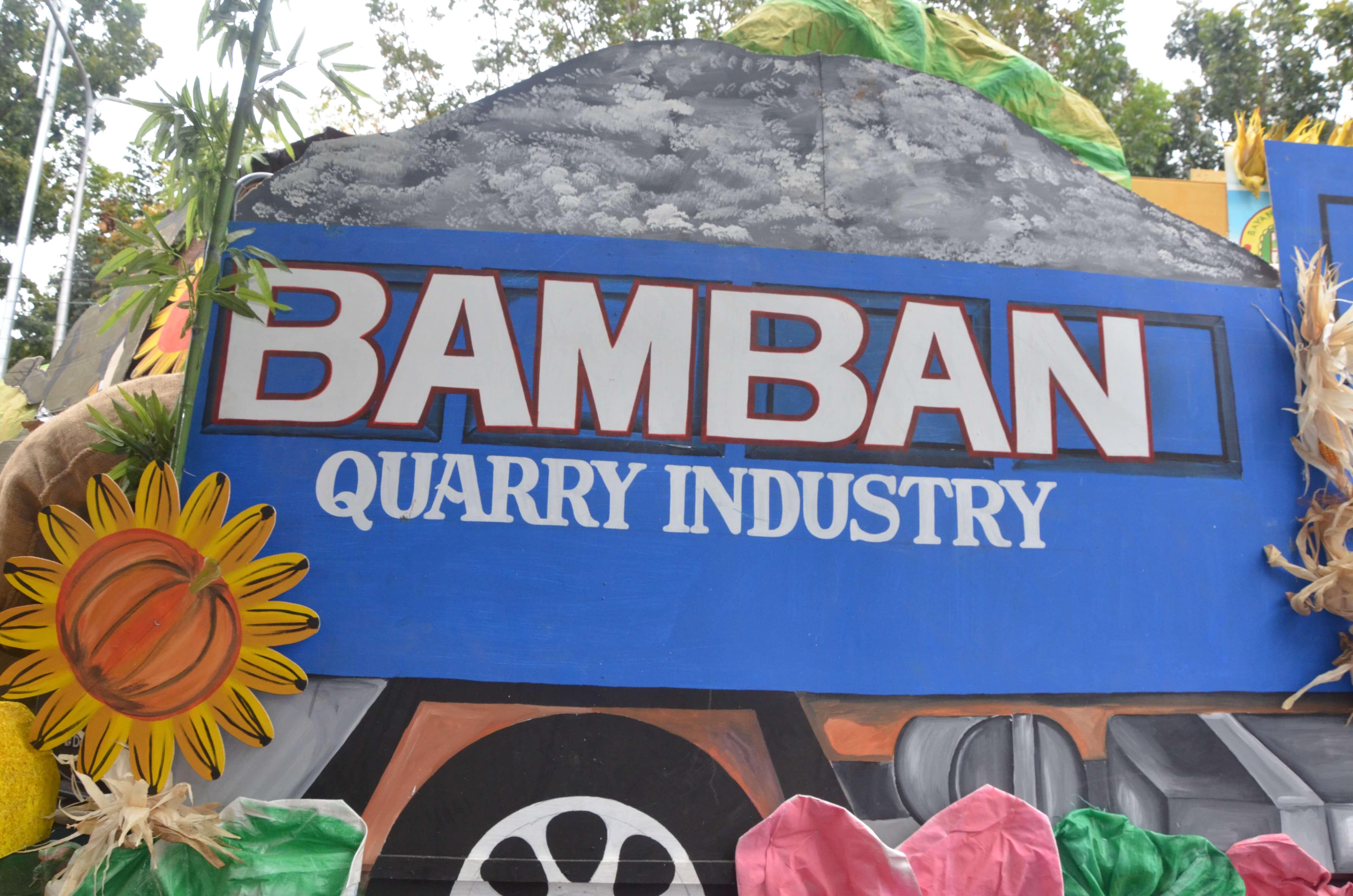 Bamban Float in the Kanlahi Festival